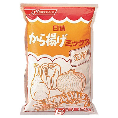 【2ケース】から揚げミックス 業務用 日清フーズ 2kg 5個×2