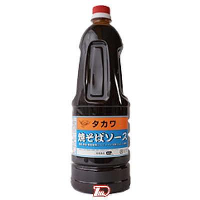 【2ケース】タカワ 焼そばソース 和泉食品 1.8L 6本×2