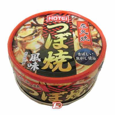 【1ケース】炭火焼 つぼ焼風味 ホテイフーズ 65g 24個