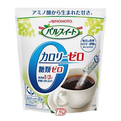 【1ケース】パルスイート カロリーゼロ 味の素 (1.8g×30本)×40個