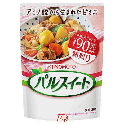 【1ケース】パルスイート 味の素 120g 40個