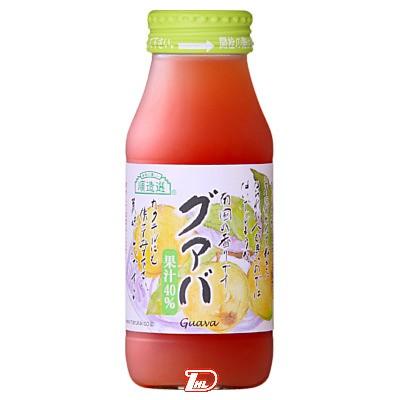 【3ケース】順造選グァバ マルカイ 180ml瓶 20本×3