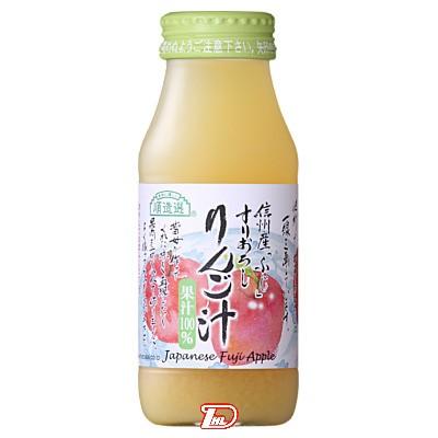 【3ケース】順造選りんご汁 マルカイ 180ml瓶 20本×3