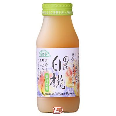 【3ケース】順造選 白桃 マルカイ 180ml瓶 20本×3