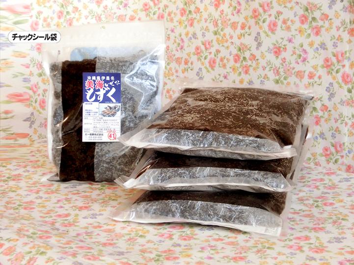 冲绳,Izena 岛专业厚 mozuku 海藻 2 公斤 [