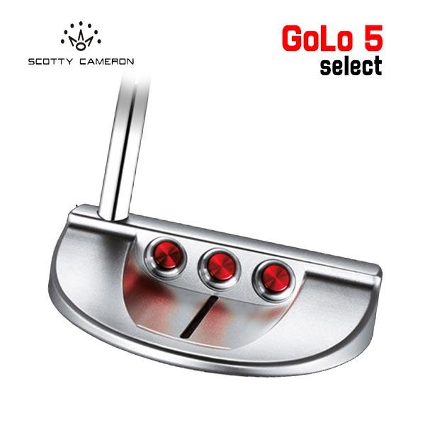 【NET限定特別価格】スコッティ キャメロン ゴーロー5 パター Golo5 35インチ 日本正規品