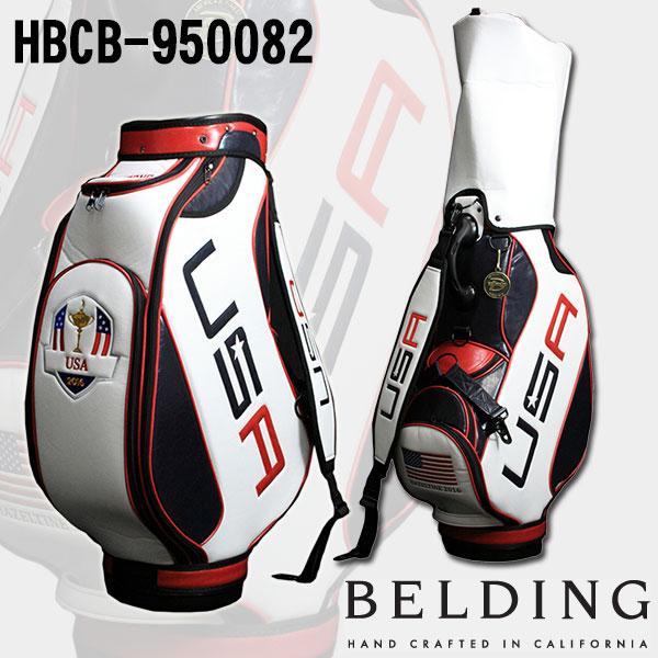 ベルディング キャディバッグライダーカップ 2016 リミテッド コレクション-オフィシャル 9.5型 HBCB-950082