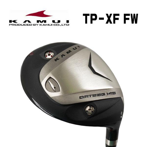 【特注カスタムクラブ】カムイ TP-XF フェアウェイウッド藤倉スピーダーエボリューション3FW シャフト