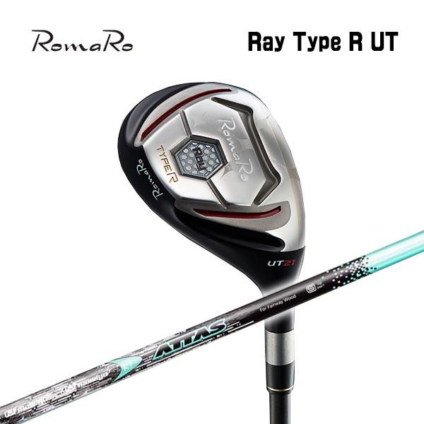 【特注カスタムクラブ】ロマロ RomaroRay Type R UTタイプR ユーティリティUSTマミヤ アッタスATTAS HY IP BLUE シャフト
