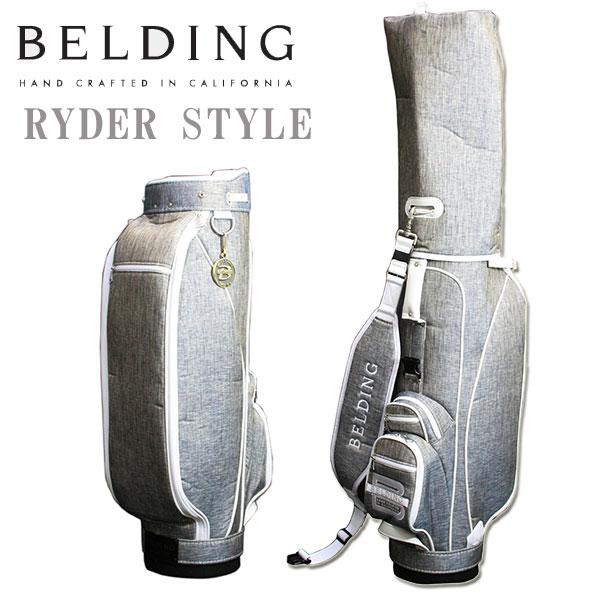 ベルディング キャディバッグ ライダースタイル9.5型 HBCB-950081 BELDING
