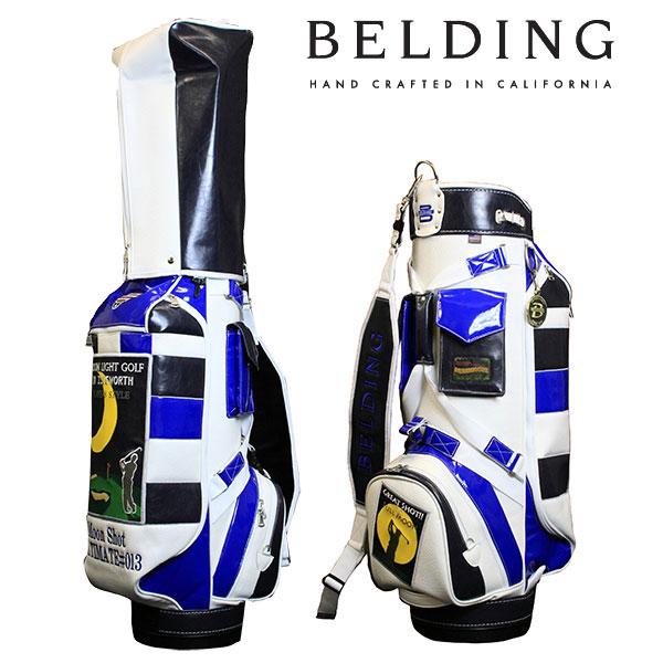 ベルディング キャディバッグファットビー ムーンライト ゴルフ8.5型 HBCB-850087