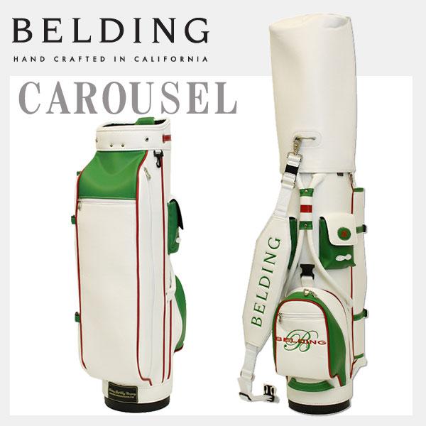 ベルディング キャディバッグ カルーセル 8.5型BELDING HBCB-850024