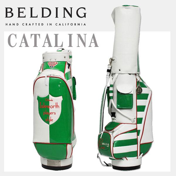 8.5型BELDING ベルディング キャディバッグ HBCB-850051 カタリナ