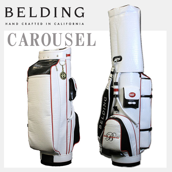 ベルディング キャディバッグ カルーセル 8.5型BELDING HBCB-850096