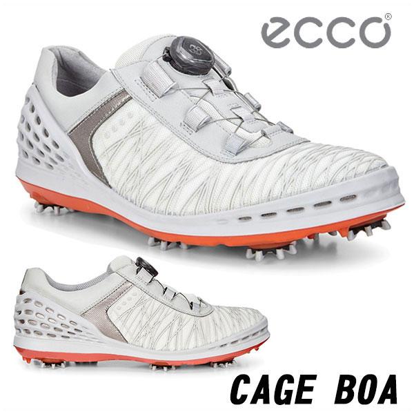 【大特価!】エコー ゴルフシューズ メンズケージボアECCO CAGE Boa 132524 あす楽 送料無料