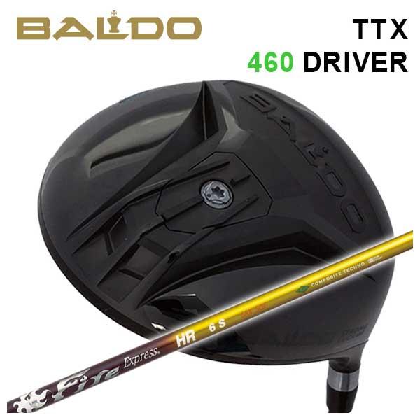 【特注カスタムクラブ】バルド BALDOTTX 460 ドライバーコンポジットテクノファイアーエクスプレスHRシャフト