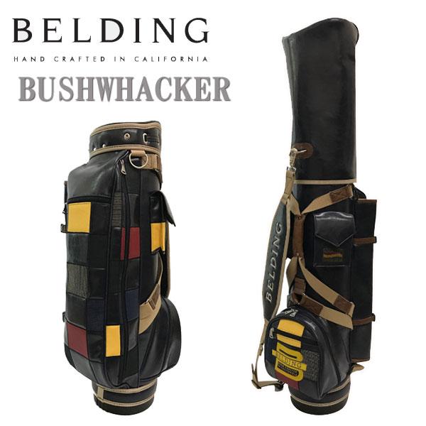 ベルディング キャディバッグ ブッシュワーカー8.5型 パッチワークBELDING HBCB-850108
