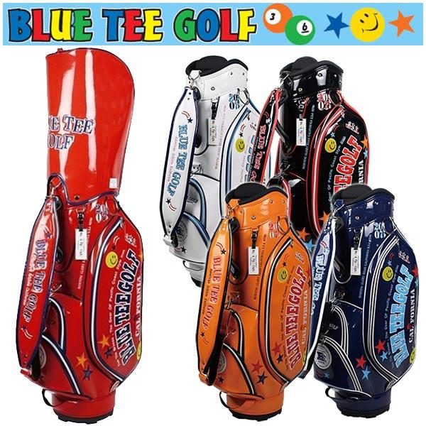 ブルーティーゴルフ キャディバッグ エナメル 9型BLUE TEE GOLF BTG-CB005
