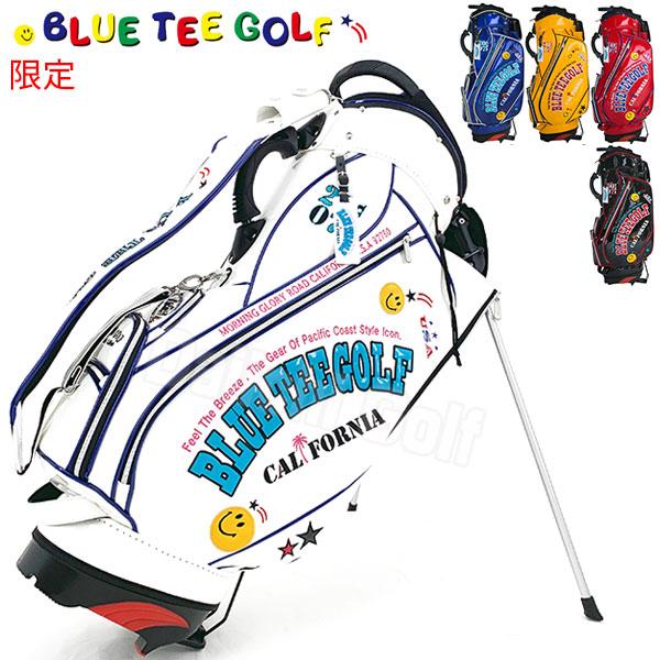 【2019年・限定】ブルーティーゴルフ スタンドキャディバッグ BTG-CB012エナメル 9型BLUE TEE GOLF