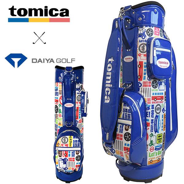 トミカ キャディバッグ CB-4105 ブルーダイヤゴルフ tomica