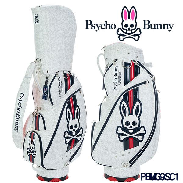 サイコバニー キャディバッグ 9型ニュー バニー ゴルフバッグ PBMG9SC1Psycho Bunny NEW BUNNY GOLF BAG