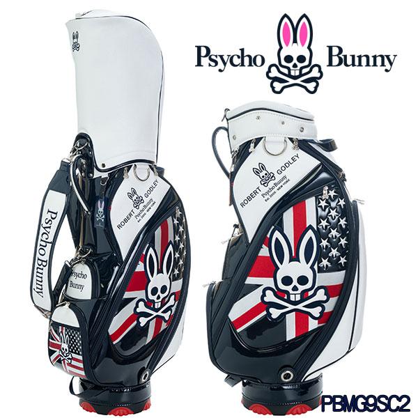 サイコバニー キャディバッグ 9型A/A ゴルフバッグ PBMG9SC2Psycho Bunny A/A GOLF BAG
