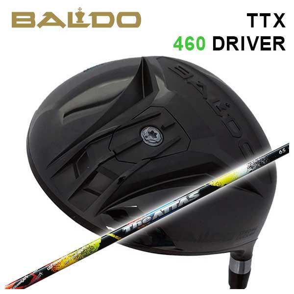 【特注カスタムクラブ】バルド BALDOTTX 460 ドライバーUSTマミヤThe ATTAS ジアッタス(10代目) シャフト