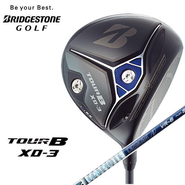 ブリヂストンゴルフ【BRIDGESTONE GOLF】TOUR B XD-3ドライバーTour AD VR-6シャフト 【高反発加工対応】【あす楽】