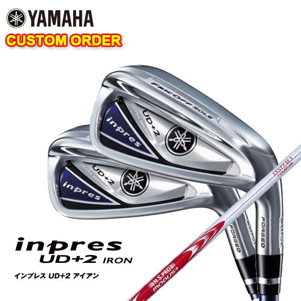 【特注カスタムクラブ】ヤマハ YAMAHA2019年モデルインプレスUD+2アイアンN.S.PRO モーダス3 Tour125シャフト
