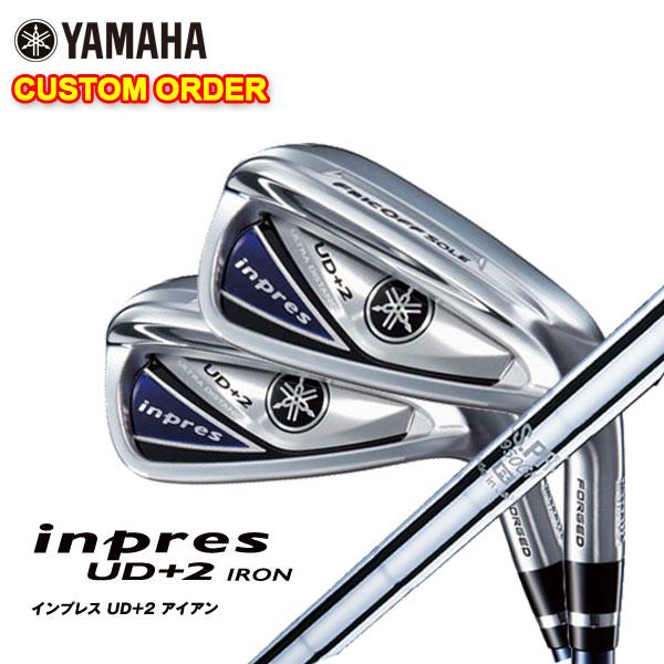 【特注カスタムクラブ】ヤマハ YAMAHA2019年モデルインプレスUD+2アイアンN.S.PRO 950GHシャフト