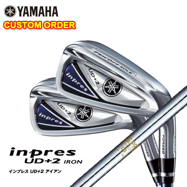 【特注カスタムクラブ】ヤマハ YAMAHA2019年モデルインプレスUD+2アイアンN.S.PRO 850GHシャフト