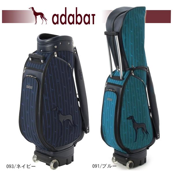 【大特価!】アダバット キャスター付き キャディバッグ 9型Adabat 645-02320