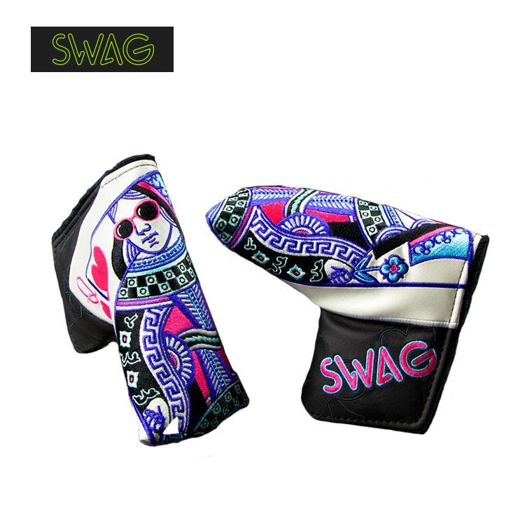 【限定モデル】SWAG GOLF クイーン オブ スワッグ パターヘッドカバー