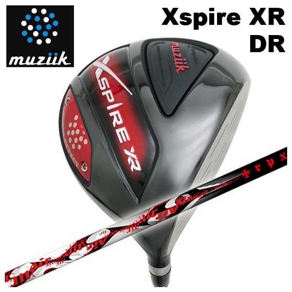 【特注カスタムクラブ】ムジーク muziikオンザスクリューエクスパイアー Xspire XR ドライバーTRPX(ティーアールピーエックス)Air(エアー) シャフト