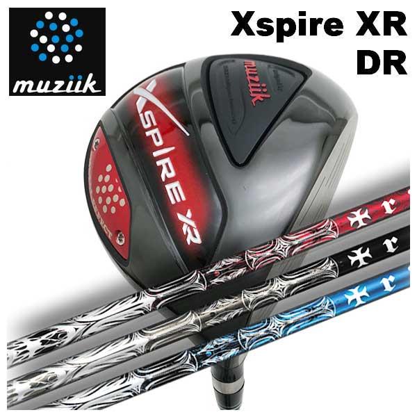 【特注カスタムクラブ】ムジーク muziikオンザスクリューエクスパイアー Xspire XR ドライバーTRPX(ティーアールピーエックス) T-SERIES(ティーシリーズ)シャフト