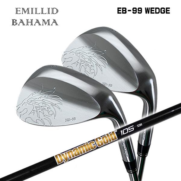 【特注カスタムクラブ】エミリッドバハマ EB-99 ウェッジトゥルーテンパー ダイナミックゴールド 105 オニキスブラックシャフト