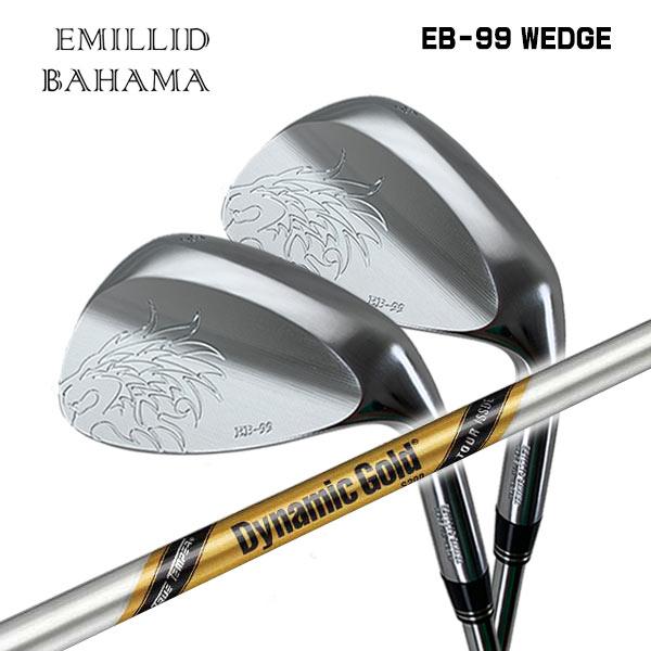 【特注カスタムクラブ】エミリッドバハマ EB-99 ウェッジトゥルーテンパー ダイナミックゴールド ツアーイシューシャフト