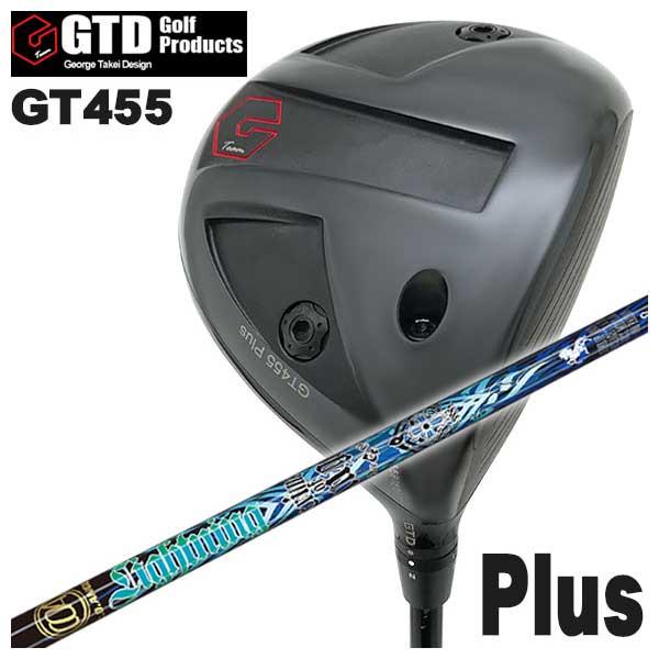 【特注カスタムクラブ】GTD ジョージ武井デザインGT455Plus ドライバークライムオブエンジェルライトニングエンジェル(Lightning Angel) シャフト