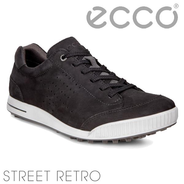 【特価】エコーシューズ ストリートレトロ150604)STREET RETRO ブラック/ブラック あす楽