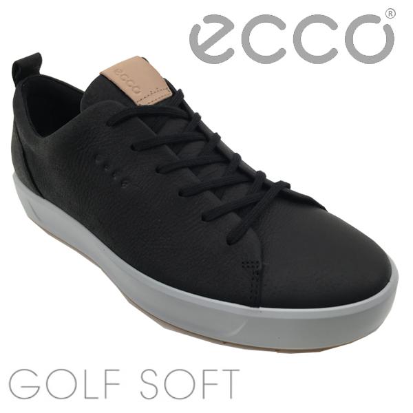 【大特価】エコー ゴルフシューズ ソフト(151304)ECCO GOLF SOFT ブラック