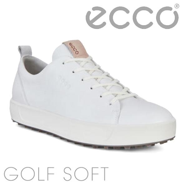 【大特価】エコー ゴルフシューズ ソフト(151304)ECCO SOFT ホワイト あす楽