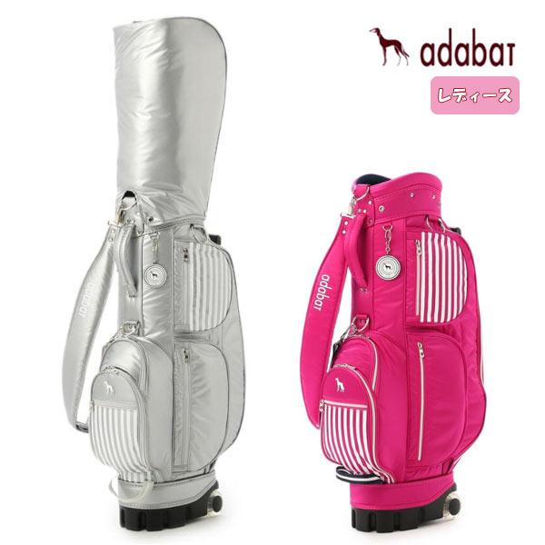 アダバット Adabat レディースキャスター付き キャディバッグ 8.5型 46インチ対応
