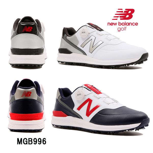 ニューバランス new balanceメンズ ゴルフシューズ スパイクボア MGB996 NB あす楽
