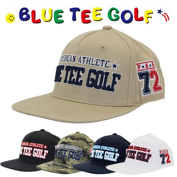年末年始大決算 中古 アメリカンアスリート ブルーティーゴルフ 平つば キャップBLUE GOLF TEE BTG-CP008 あす楽