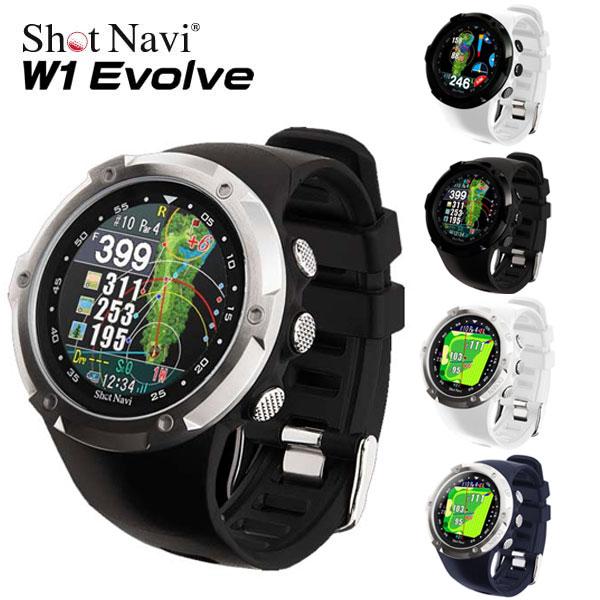 腕時計型GPS 未使用 新入荷 流行 送料無料 ショットナビ W1 Navi ゴルフナビGPSShot あす楽 EVOLVE