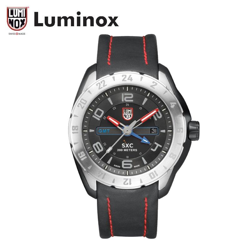 【公式】Luminox ref. 5127 SXC STEEL GMT 5120 SPACE SERIES [スペースシリーズ/ファーストモデル/ライトニング掲載/UP SWEEP掲載/Coast Line掲載/JOKER掲載/腕時計王掲載]