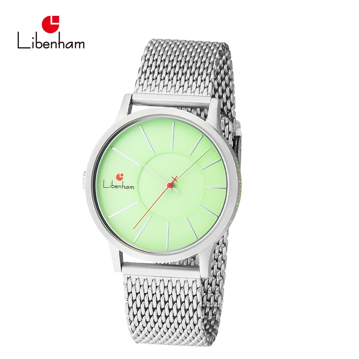 【公式】リベンハム LH90036-06(Grass-Green) [リベンハム新ラントシャフトシリーズ/Fielder掲載/腕時計/緑/グリーン/Libenham/自動巻き/新生活/新社会人/男女兼用/メンズ/レディース