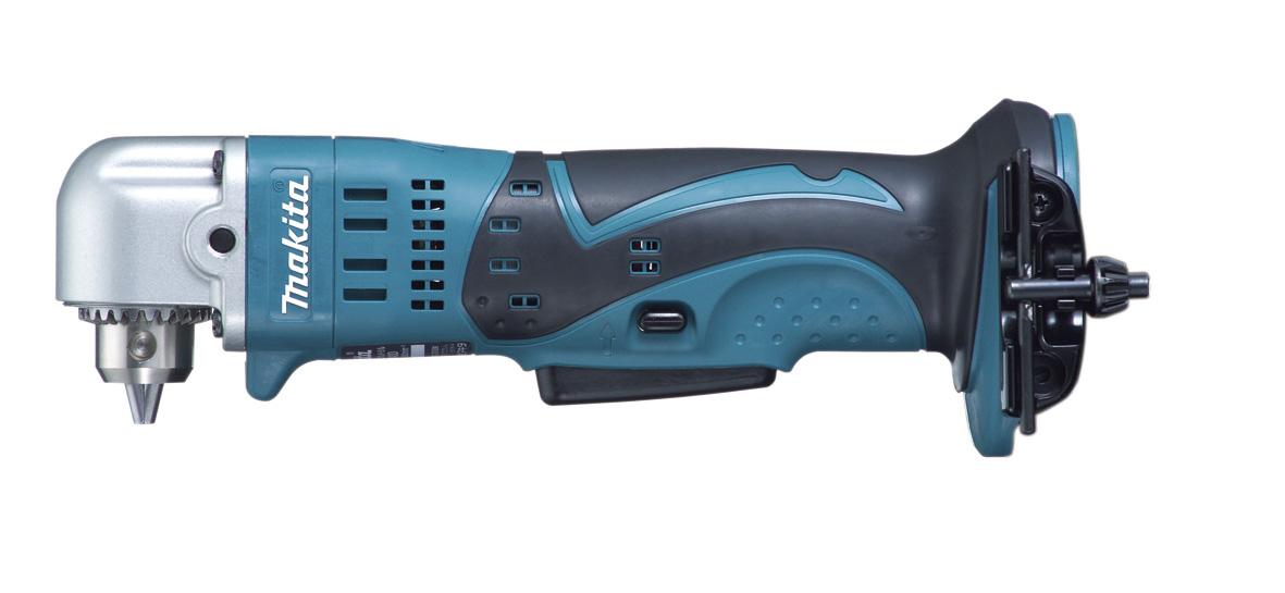 マキタ 18Vアングルドリル 青 DA350DZ【本体のみ】 〈鉄工10mm、木工25mm〉