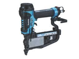マキタ 50mm高圧フロアタッカ 青 AT450HAM エアダスタ付 ケース付き (4mmMA線ステープル専用)
