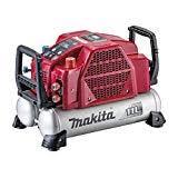 マキタ エアコンプレッサ 赤 AC462XLR タンク容量11L タンク内最高46気圧 エア量506L 【高圧/一般圧対応】